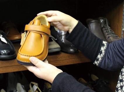 靴のチョイス